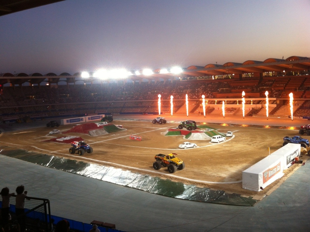 Monster Trucks Zayed Sports City