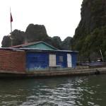 Ha Long Bay, Concrete boats in Ha Long Bay, Ha Long Bay Vietnam