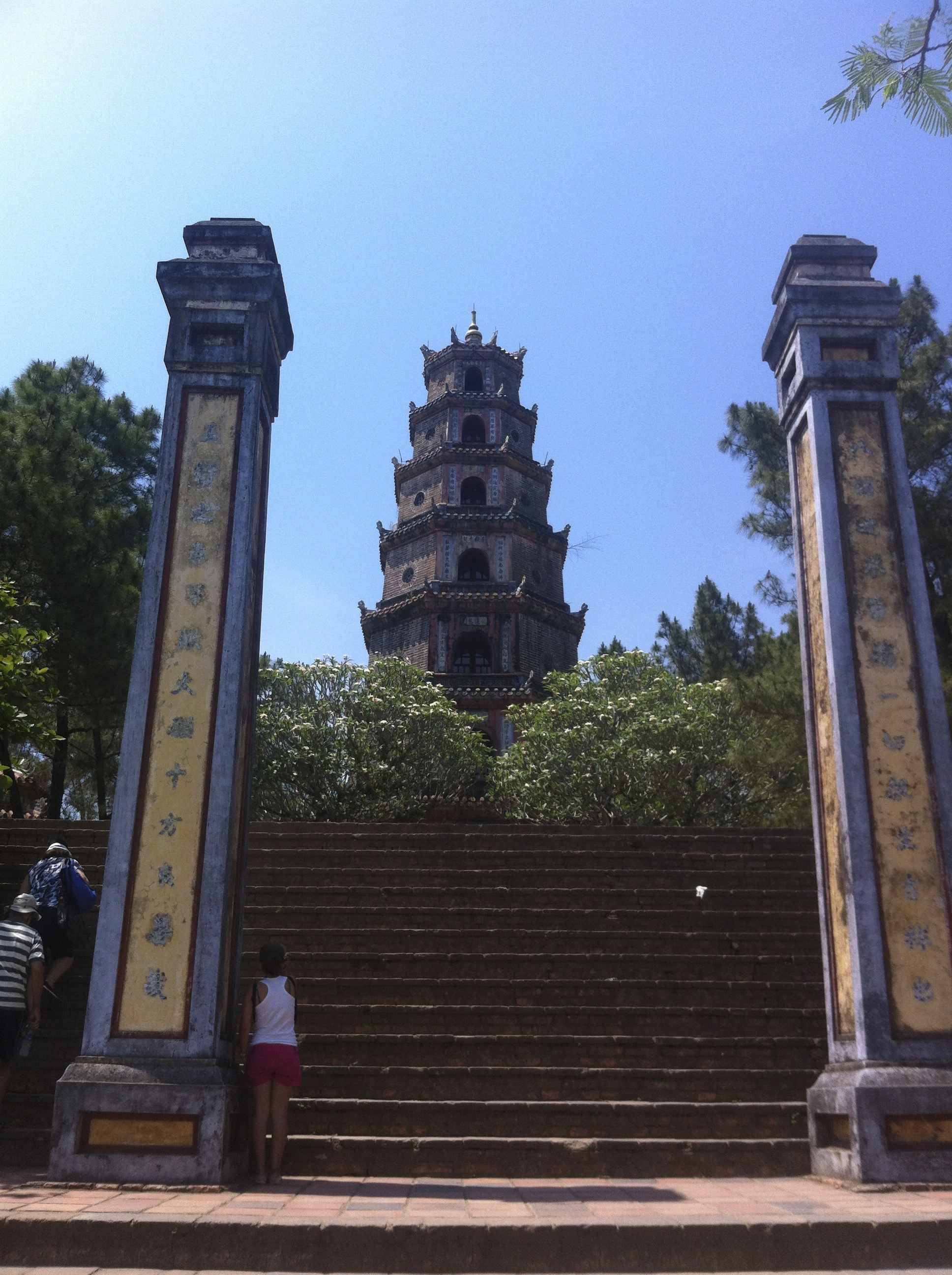 Thien Mu Pagoda, Perfume River