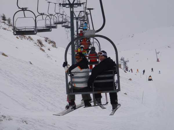 Snowboarding Lebanon Weekend
