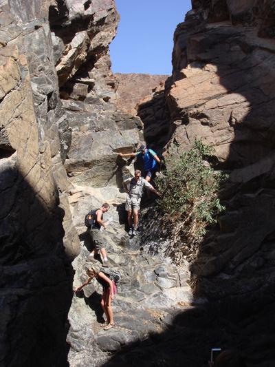 Jebel Hatta hiking