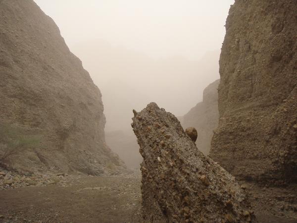 Jebel Hatta Hike, weather closing in