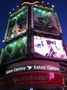 Eaton Centre, Yonge Street, Downtown Toronto